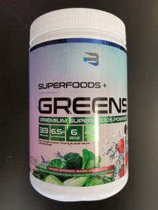 Believe Supplements- Superfoods Greens- Mixed Berries