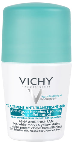 Vichy DEO Intense Transpiratie roller 48 uur  anti-strepen - SkinEffects Zwolle