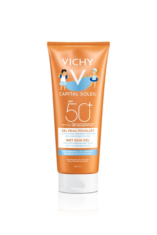 Vichy CAPITAL SOLEIL Wet Skin Gel Kids SPF50 - SkinEffects Zwolle