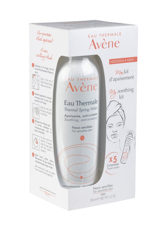 Eau Thermale Avène spray 150ml +5 compressen Limited Edition - SkinEffects Zwolle