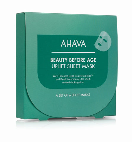 Ahava Uplifting & firming sheet mask (afname per 15 masks) - SkinEffects Zwolle