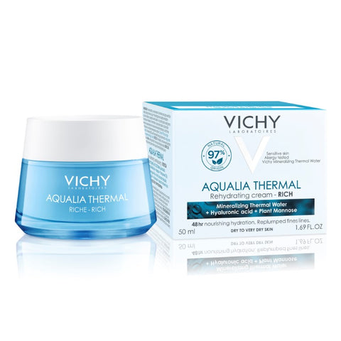 Vichy AQUALIA THERMAL Rijke crème pot - SkinEffects Zwolle