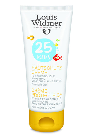Louis Widmer Kids Skin Protection Cream 25 met Lippenverzorging Stick 50 - SkinEffects Zwolle