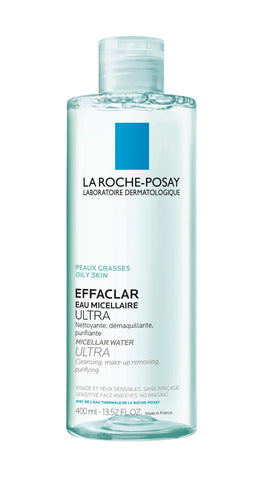 LRP Effaclar Micellair Water 400ml - SkinEffects Zwolle
