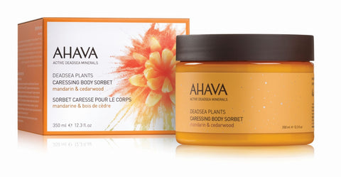 Ahava Caressing body sorbet Mandarin & Cedarwood - SkinEffects Zwolle