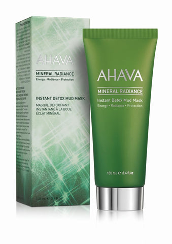 Ahava Mineral Radiance instant detox mud mask - SkinEffects Zwolle