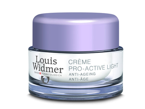 Louis Widmer Pro-Active Cream Light Zonder Parfum - SkinEffects Zwolle