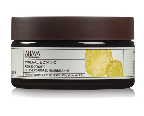Ahava Mineral Botanic Body Butter Pineapple & Peach - SkinEffects Zwolle