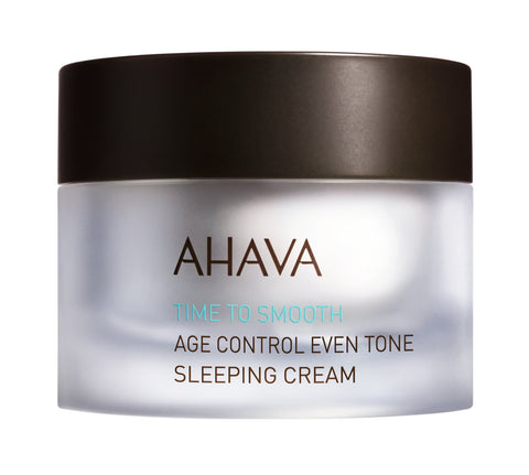 Ahava Age control even tone sleeping cream - SkinEffects Zwolle