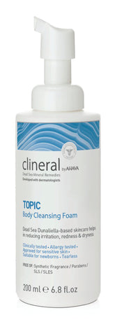 Ahava Clineral TOPIC Body cleansing foam - SkinEffects Zwolle