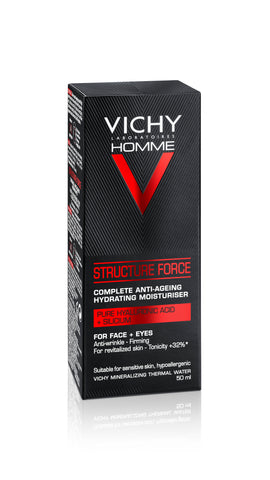 VICHY HOMME Structure Force 50ml - SkinEffects Zwolle