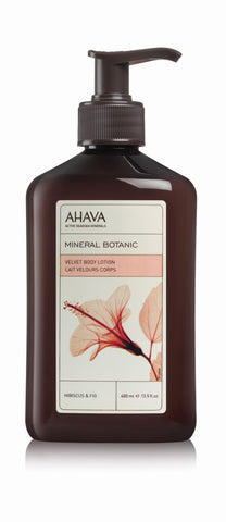 Ahava Mineral botanic body lotion hibiscus - SkinEffects Zwolle