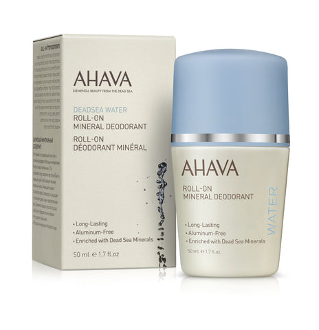 Ahava Roll-on mineral deodorant for Women - SkinEffects Zwolle