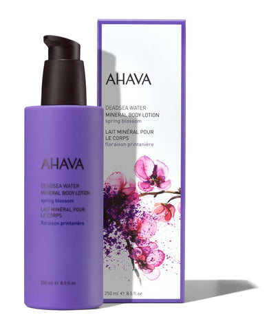 Ahava Mineral body lotion spring blossom - SkinEffects Zwolle