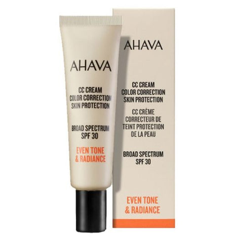 Ahava CC Cream Color Correction Skin Protection SPF 30 - SkinEffects Zwolle