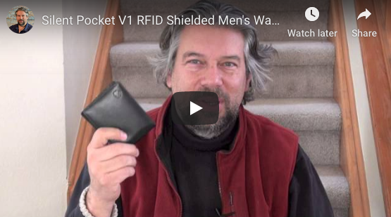 Dave Taylor's Video Review of Silent Pocket RFID Secure Wallet
