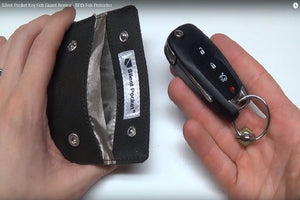 Silent Pocket Product Review Key Fob Guard Image