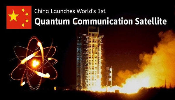 China Creates Quantum Hack Proof Communications Network and Satellites