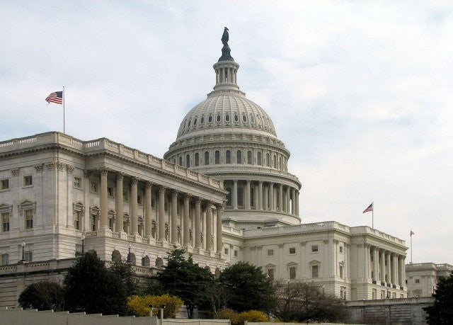 A picture of Capitol Hill where Senators introduced a bill to address vulnerabilities in the internet of things devices