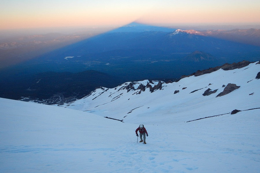 you can't climb mountains chained to phone mount shasta