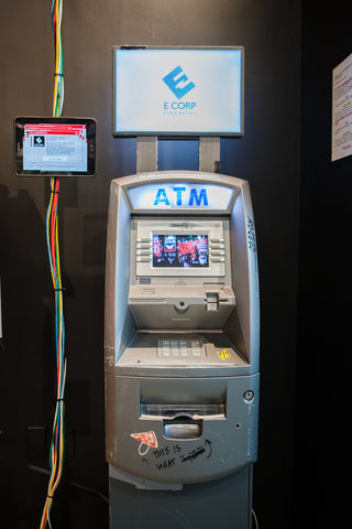 Disrupt Story Silent Pocket E-Corp ATM Machine