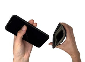 phone and faraday sleeve
