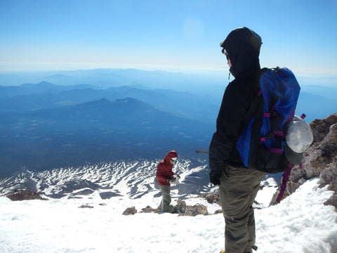 A view from Mt. Shasta - No Phone Allowed