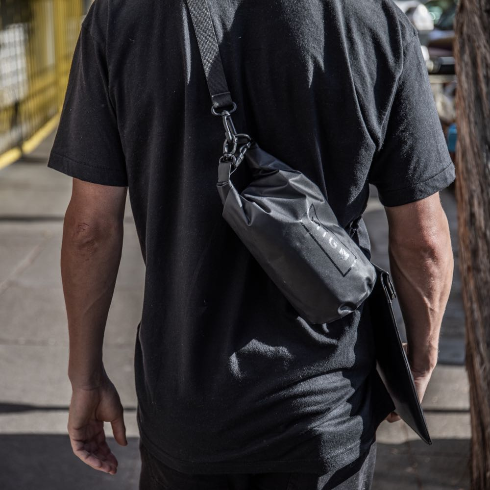 carry your silent pocket faraday dry bag wherever you go