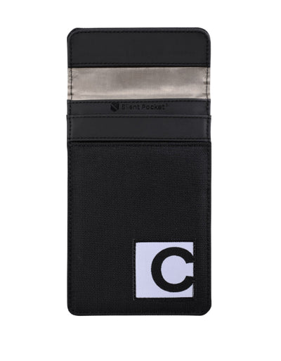 silent pocket crypto signal blocking faraday hardware wallet sleeve