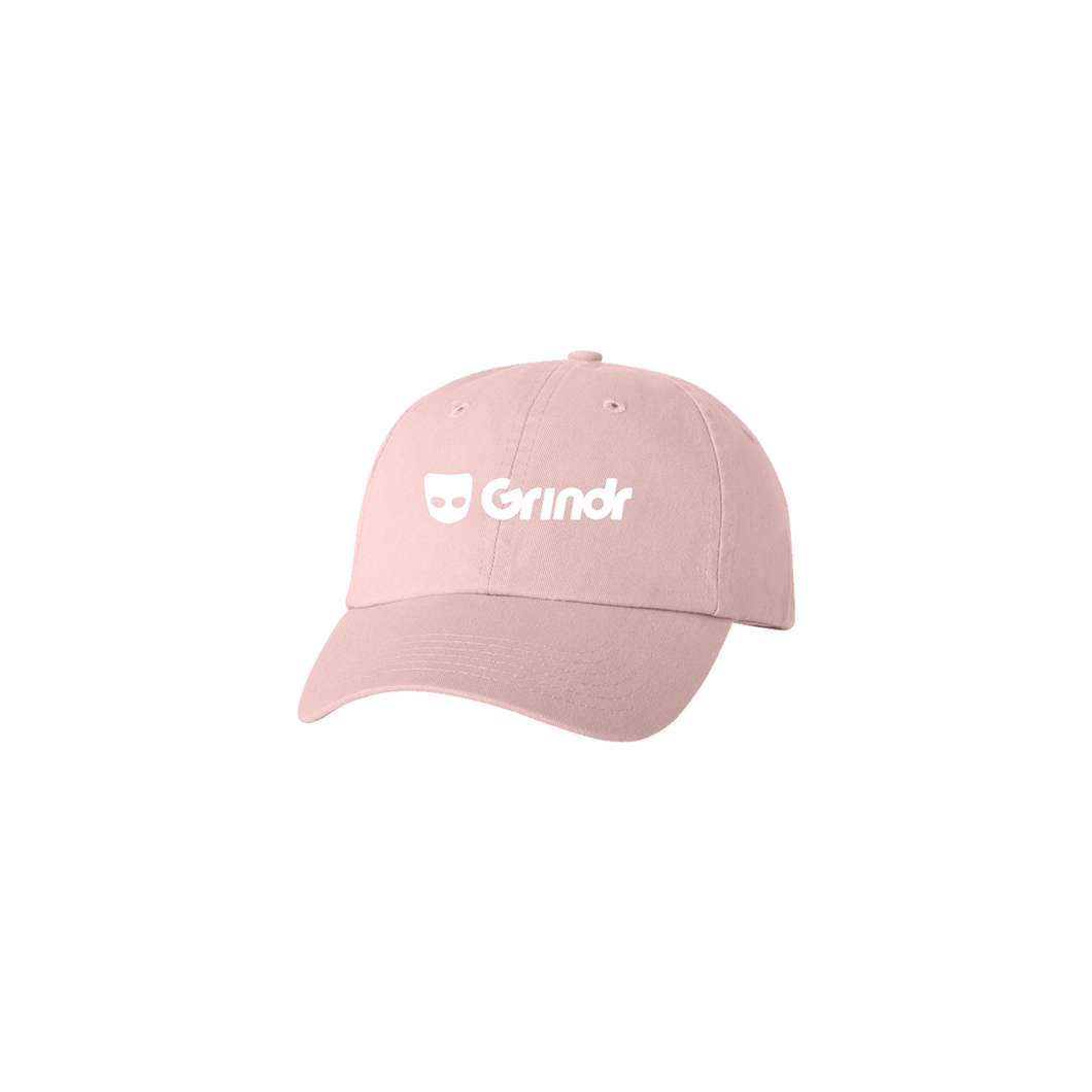GRINDR EMBROIDERED VELCRO HAT