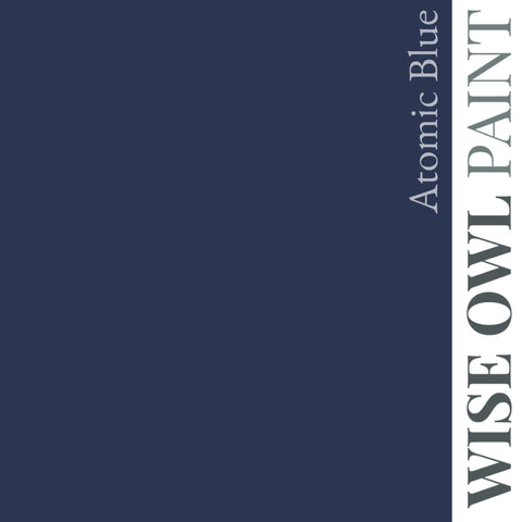 Wise Owl Chalk Synthesis Paint - Atomic Blue