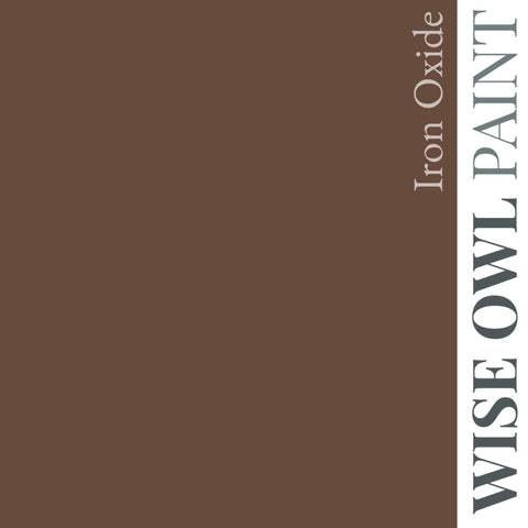 Wise Owl Chalk Synthesis Paint - Iron Oxide