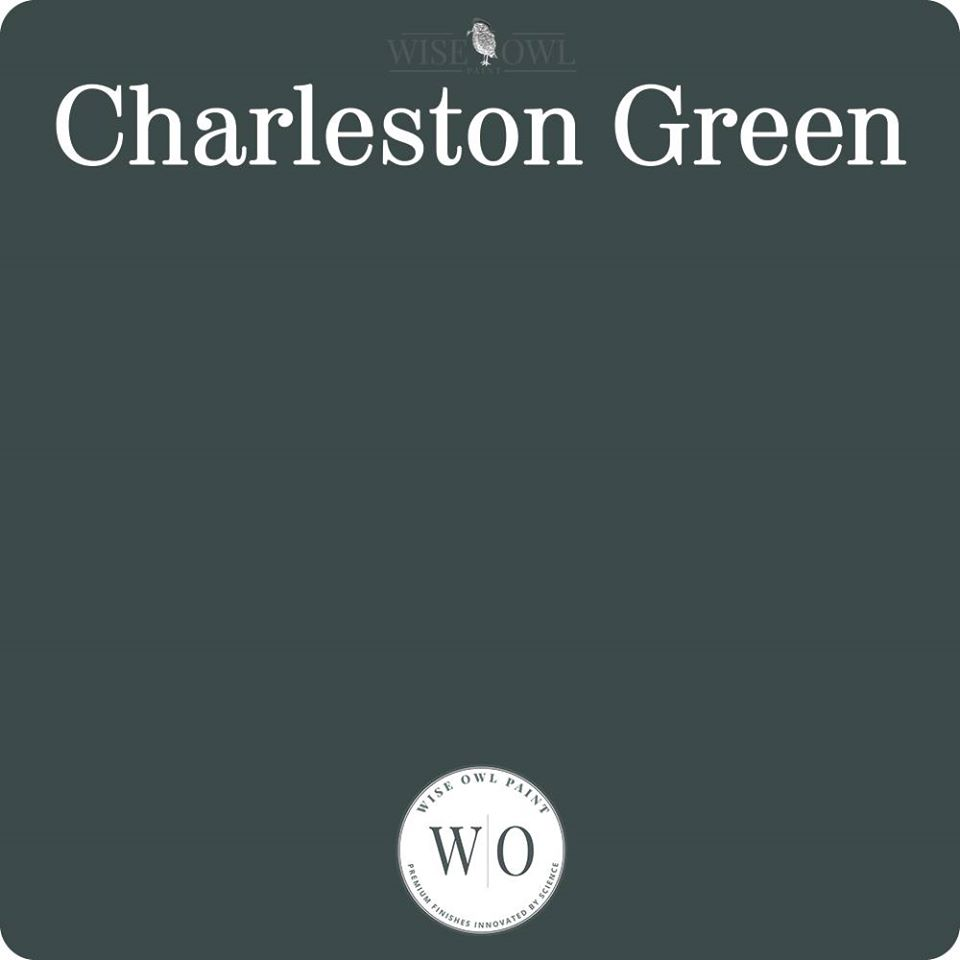 Wise Owl Chalk Synthesis Paint - Charleston Green