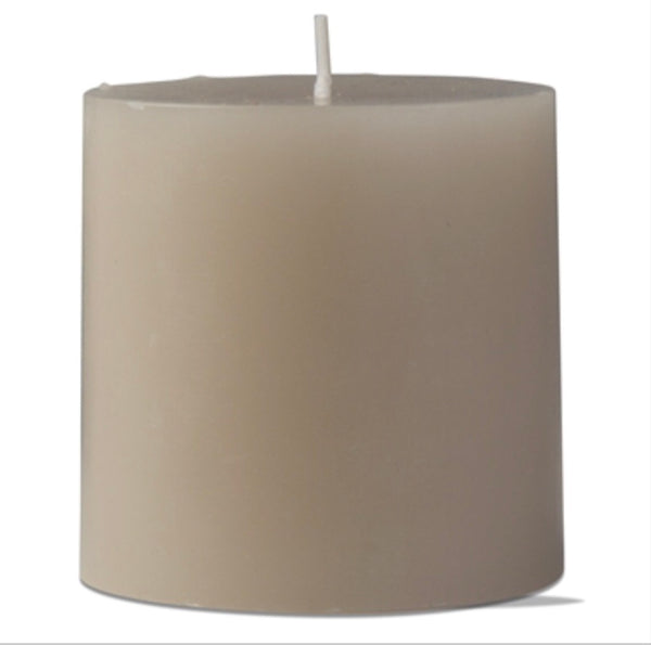 "Candle- 3""x3"" Pillar Candle in 3 Colors"