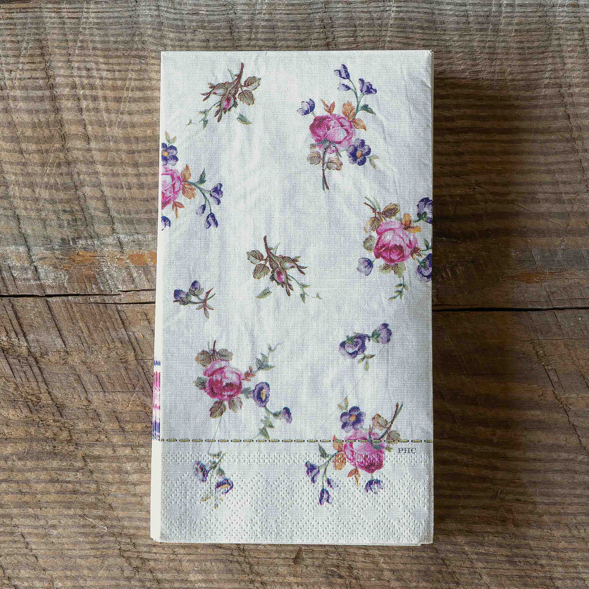 Petite Flower Paper Dinner Napkins/Guest Towels