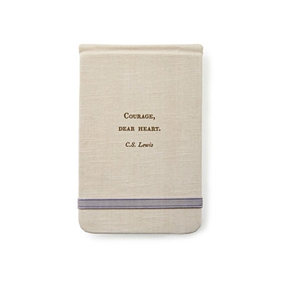 C.S. Lewis Fabric Notebook