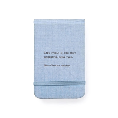 Hans Christian Andersen Fabric Notebook