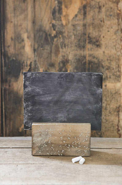 Chalkboard w/ Wood Holder