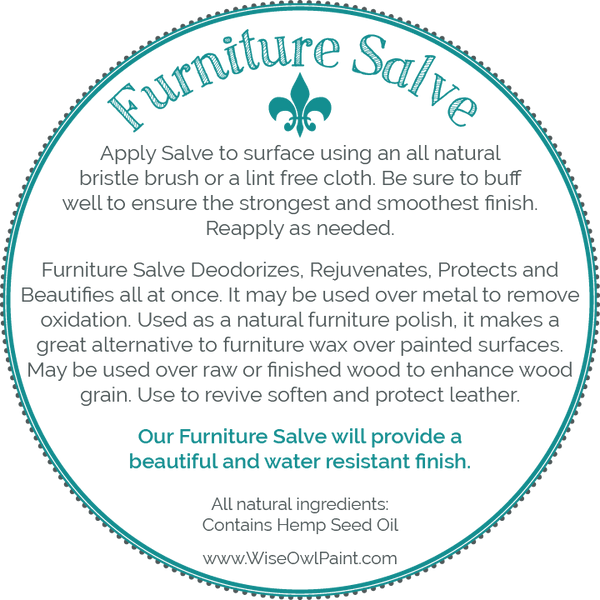 Wise Owl Furniture Salve - Foxtrot