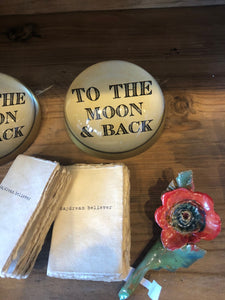 To The Moon & Back Paperweight