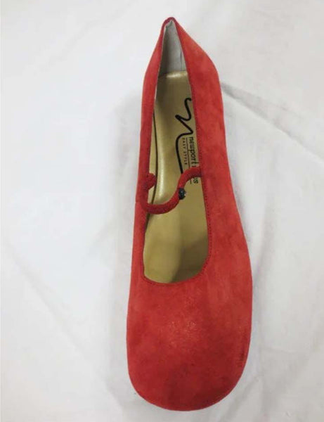 NEWPORT NEWS  Red Mary Jane Shoes