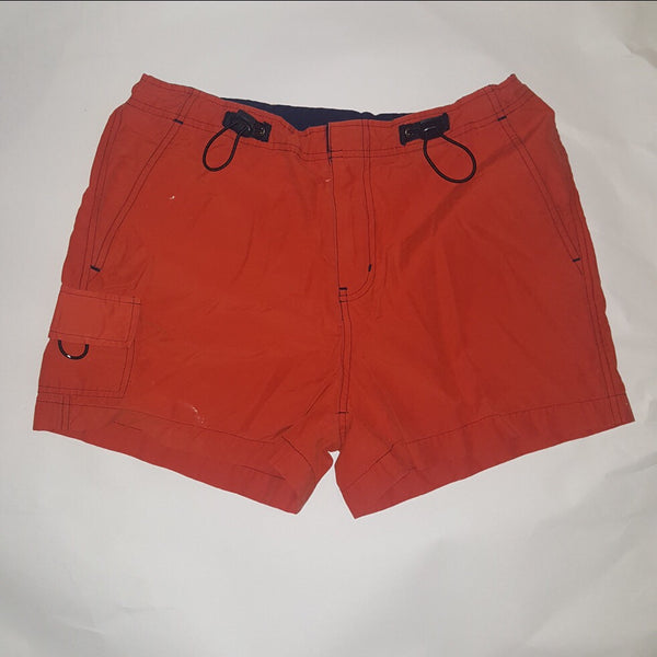L.E.I.   Athletic Shorts  Deep Orange Red