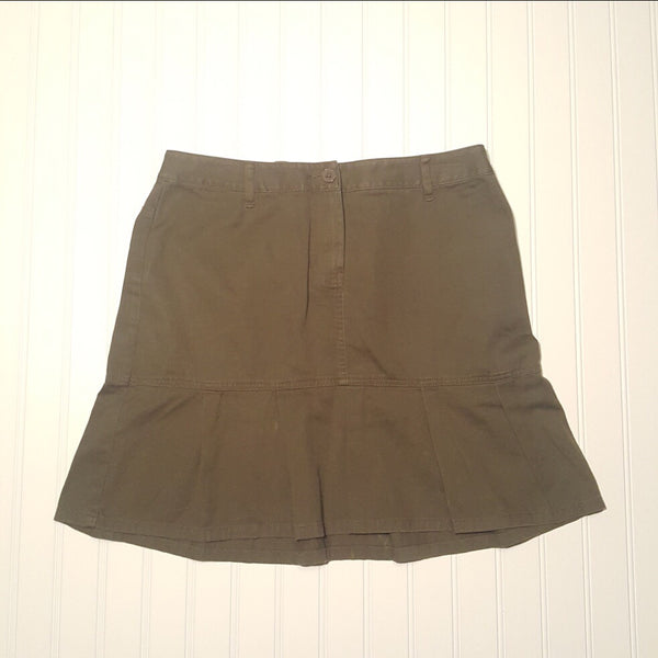 Ann Taylor LOFT  Cotton Skirt  Size 8
