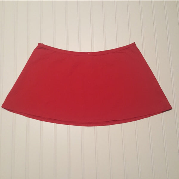 GAP Gapbody  Red Skirt  Size Medium