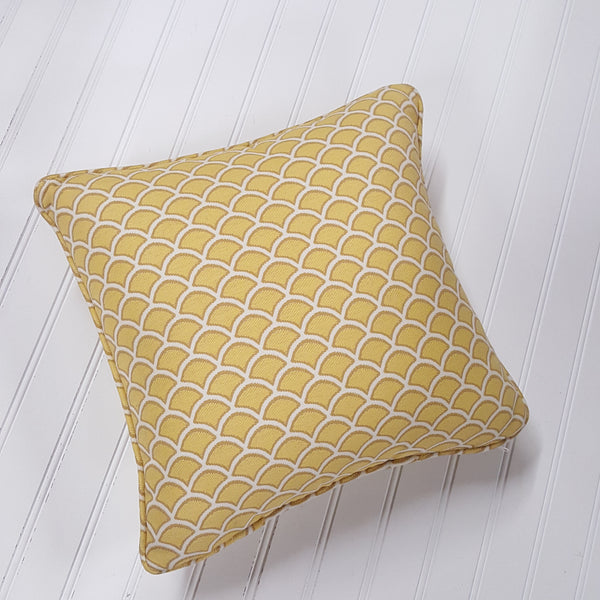 Decorator Scallop Throw Pillow