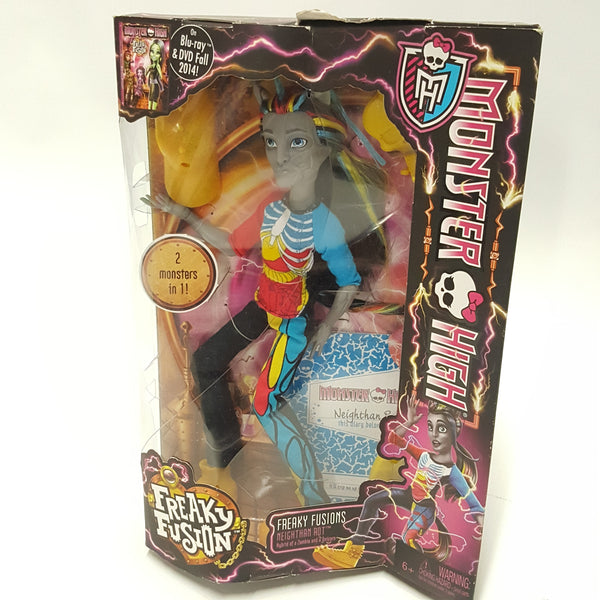 Neighthan Rot Monster High Doll Freaky Fusion New in Box