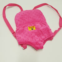 Build A Bear Plush Doll or Bear Carrier - hot pink
