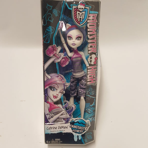 Catrine DeMew Monster High Doll Fangtastic Fitness New in Box