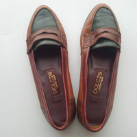 DOLCIS vintage colorful leather flats - size 10M