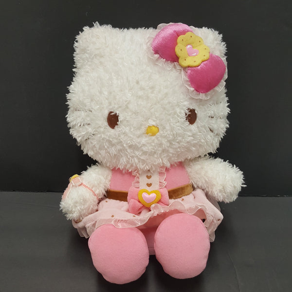 HELLO KITTY  fluffy face plush